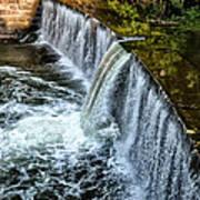 Wissahickon Dam At Ridge Avenue - Side View Poster