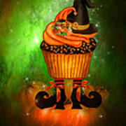 Witch Cupcake 6 Poster