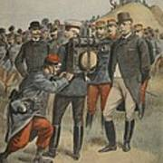 With The Army Manoeuvres The Duke Poster