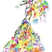 With Umbrella 0645 Marucii Poster
