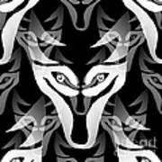 Wolf Mask Poster