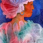 Woman In Turban Poster