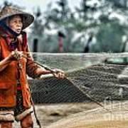 Woman Vietnam Color Poster