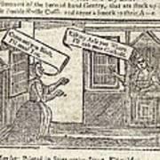 Women Arguing, 18th Century Artwork Poster