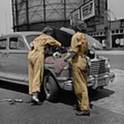 Women Auto Mechanics Poster