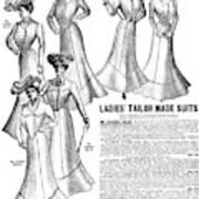 Women's Wear, 1902 Poster