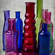 Wonderful Glass Bottles Poster
