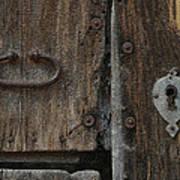 Wood Door Poster