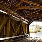 Wood Fame Bridge Poster
