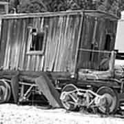 Wooden Caboose Poster