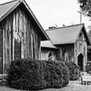 Wooden Country Church 2 Poster