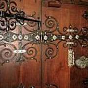 Wooden Doors Poster