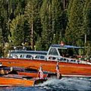 Wooden Runabouts Of Tahoe Poster