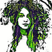 Woodland Faerie Poster
