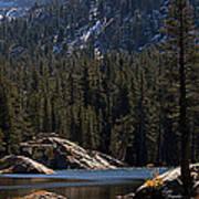 Woods Lake Poster