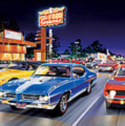 Woodward Avenue Poster