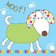 Woof Poster