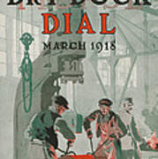 Workers At Shipyard Poster