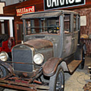 Working On The Old Ford Model T 5d25570 Poster