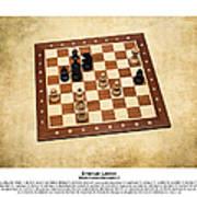 World Chess Champions - Emanuel Lasker - 1 Poster