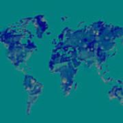 World Map 2b Poster