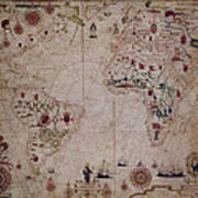 World Nautical Chart 1633 Poster