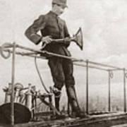 World War I Air Raid Siren Poster