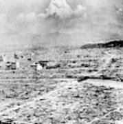 World War II Hiroshima Poster