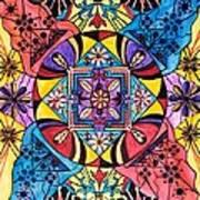 Worldly Abundance Poster by Teal Eye  Print Store
