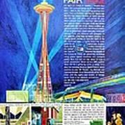 Worlds Fair 1962 Poster