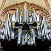 Worms Cathedral Organ Poster