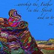 Worship The Father Poster