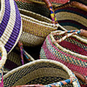 Woven Baskets Poster