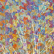 Woven Branches Long Poster