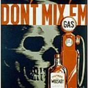 Wpa  Vintage Safety Poster Poster