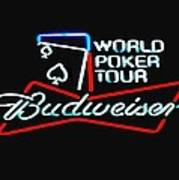 Wpt And Budweiser Poster