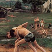 Wrestling Poster