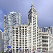 Wrigley Building Chicago Poster