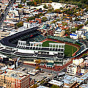 Wrigley Field Chicago Sports 01 Poster