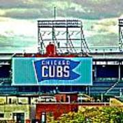 Wrigley Field Chicago Cubs Poster
