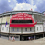 Wrigley Field Marquee Poster