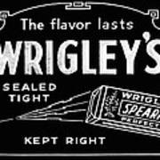 Wrigleys Spearmint Gum Poster