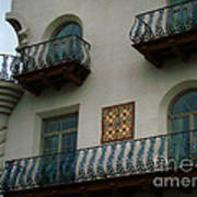 Wrought Iron Balconies Poster