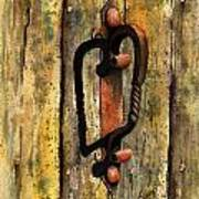 Wrought Iron Handle Poster