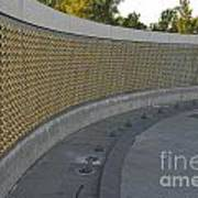 Wwii Memorial Stars Poster