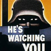 Wwii: Propaganda Poster Poster
