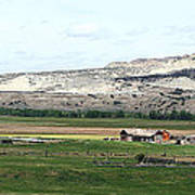 Wyoming Ranch Poster