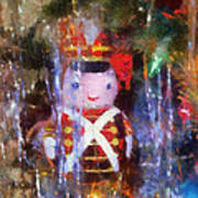 Xmas Soldier Ornament Photo Art 02 Poster