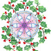 X'mas Wreath Poster