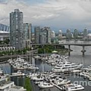 Vancouver From Yale Town Poster